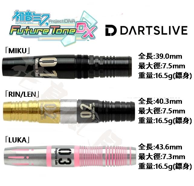 Hatsune-Miku-Rin/Len-Luka-darts-set