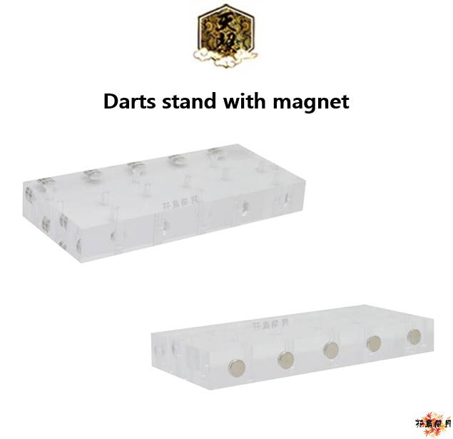 AMATERASU-DartsStand-Magnet-Clear
