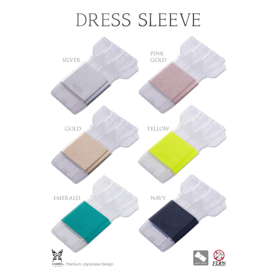 Cameo-DARTS-CASE-DRESS-SLEEVE-CLEAR