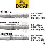 DCRAFT-Barrel-90-Tungsten-crusaders-series
