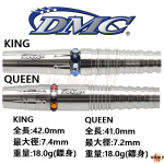 DMC-2BA-COLORS-KING-QUEEN