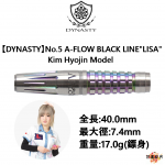 DYNASTY-NO5-A-FLOW-BLACK-LINE-LISA-Kim-Hyojin-Model