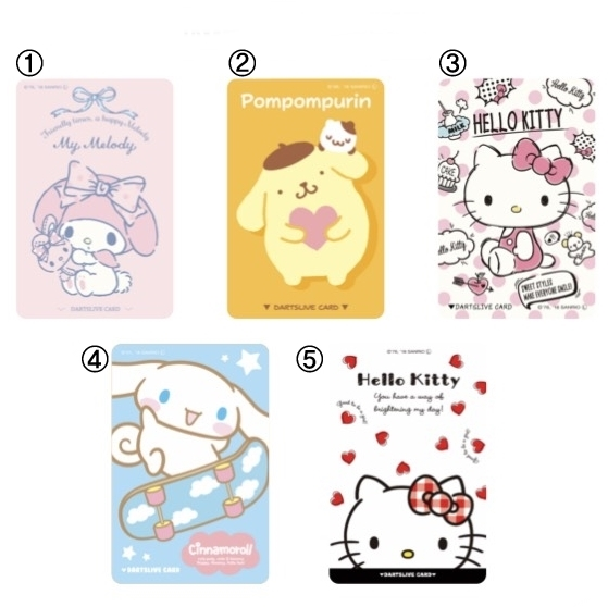 Dartslive2-Card-Sanrio-Series
