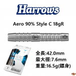 Harrows-2BA-Aero90-StyleC-18gR